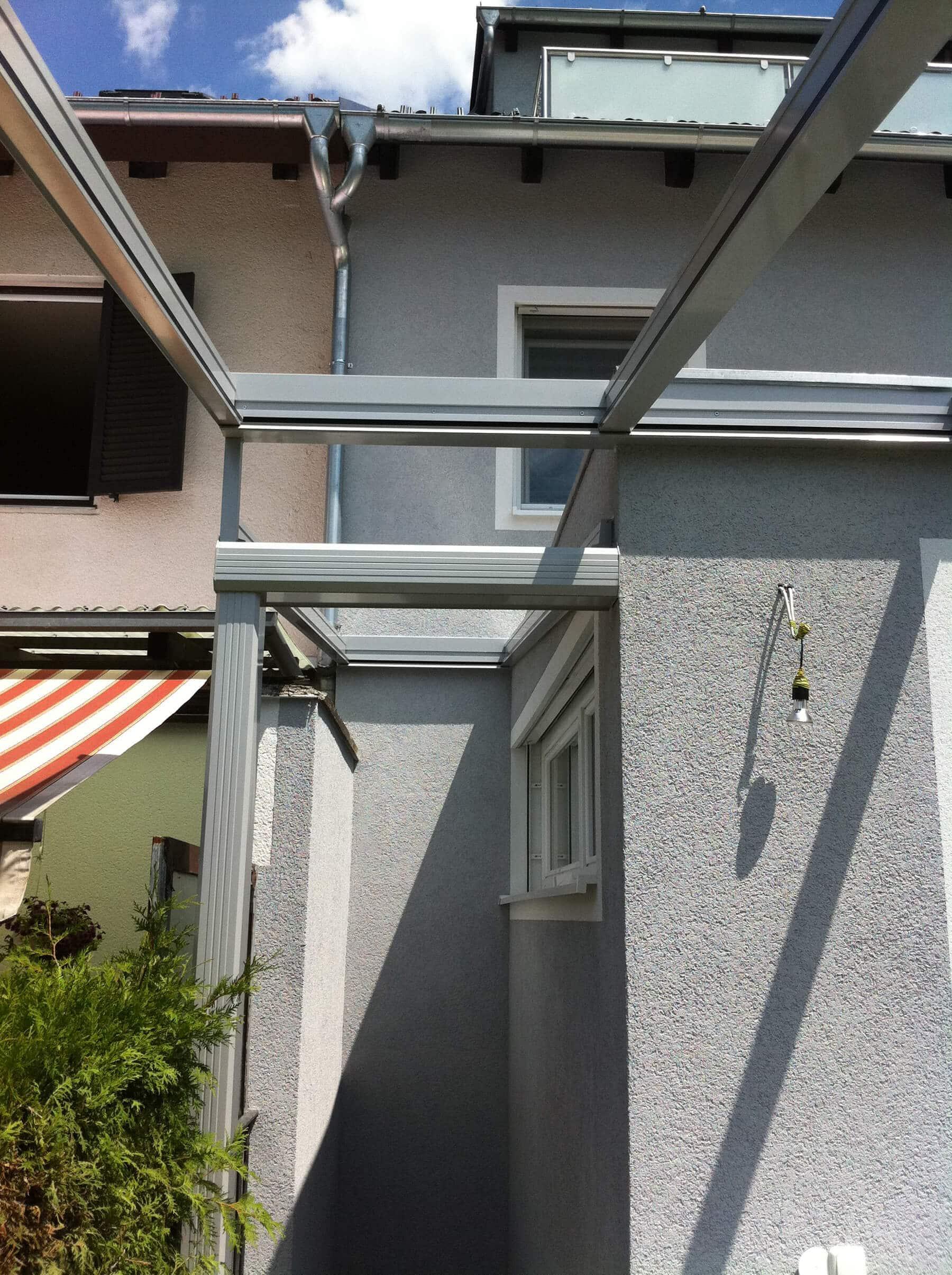 Terrassenüberdachung Sonderanfertigung