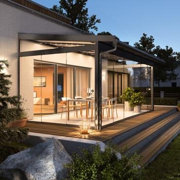 Terrassenüberdachung Sunflex Österreich