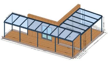 Terrassenüberdachung ums Eck Preise
