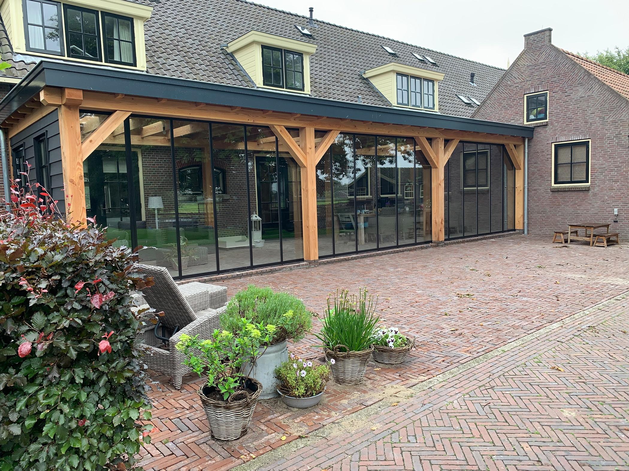 Terrassenüberdachung Wintergarten umbauen