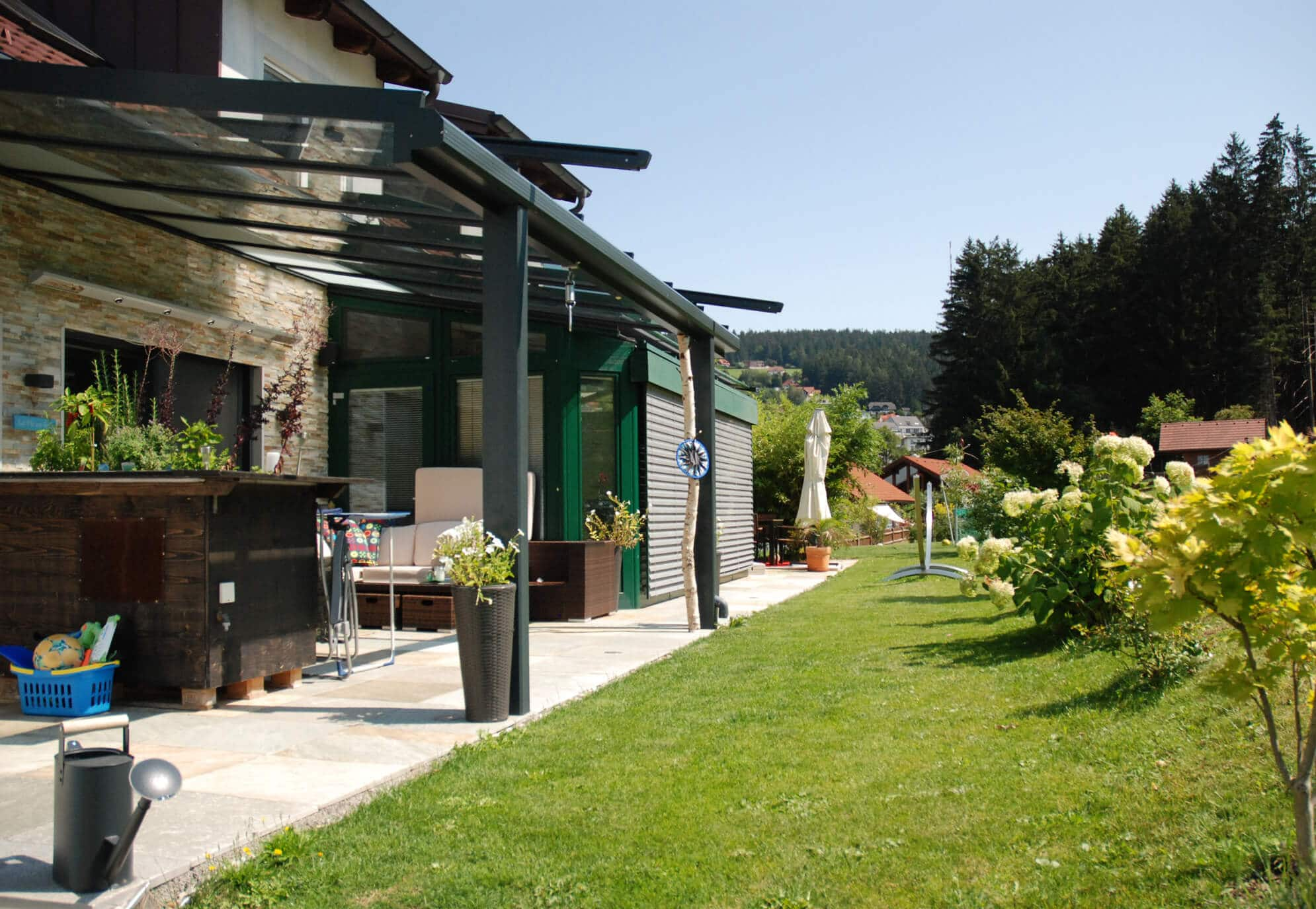 Terrassenüberdachungen und Markisen