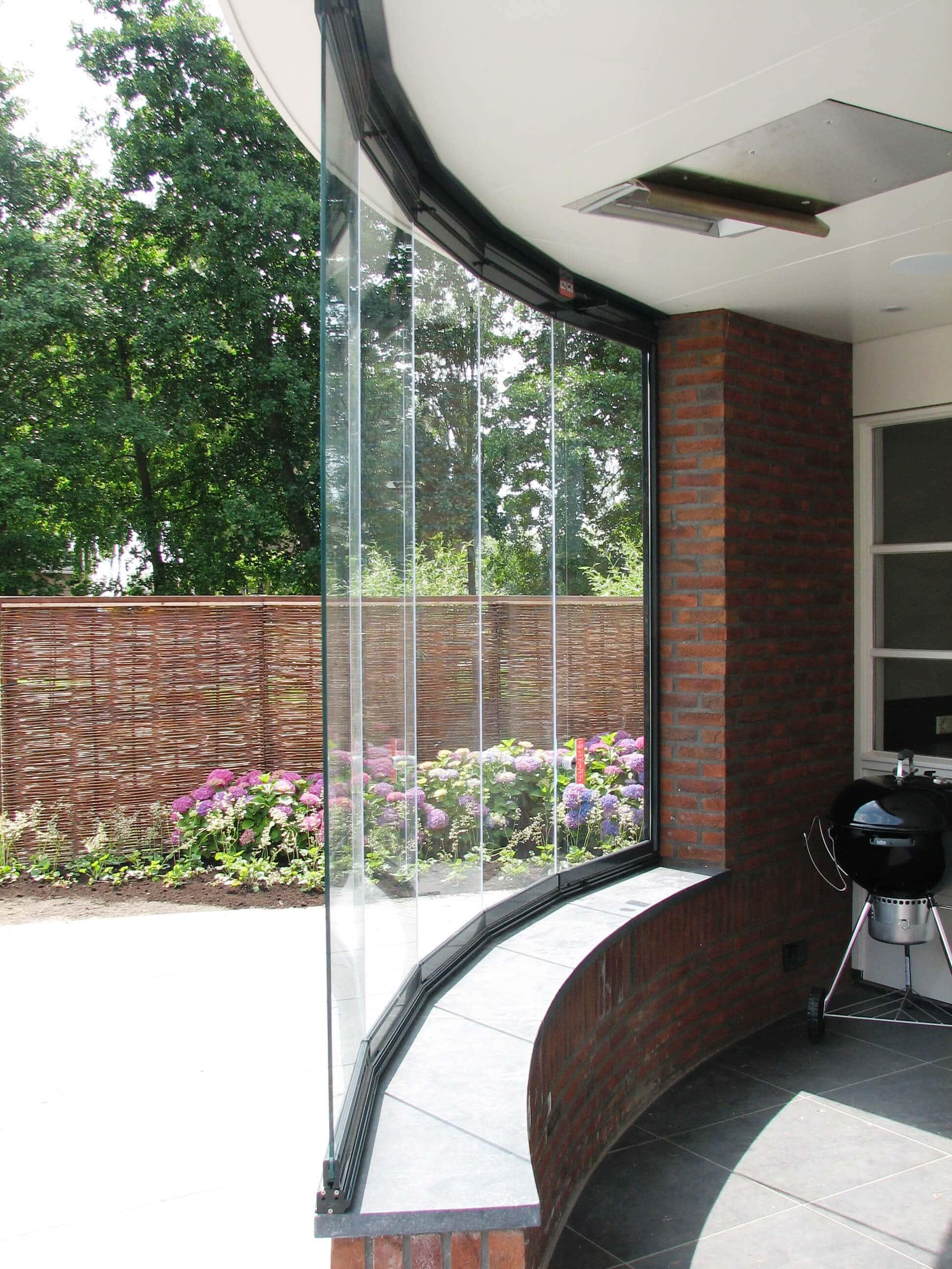 Terrassenverbau Schiebefenster