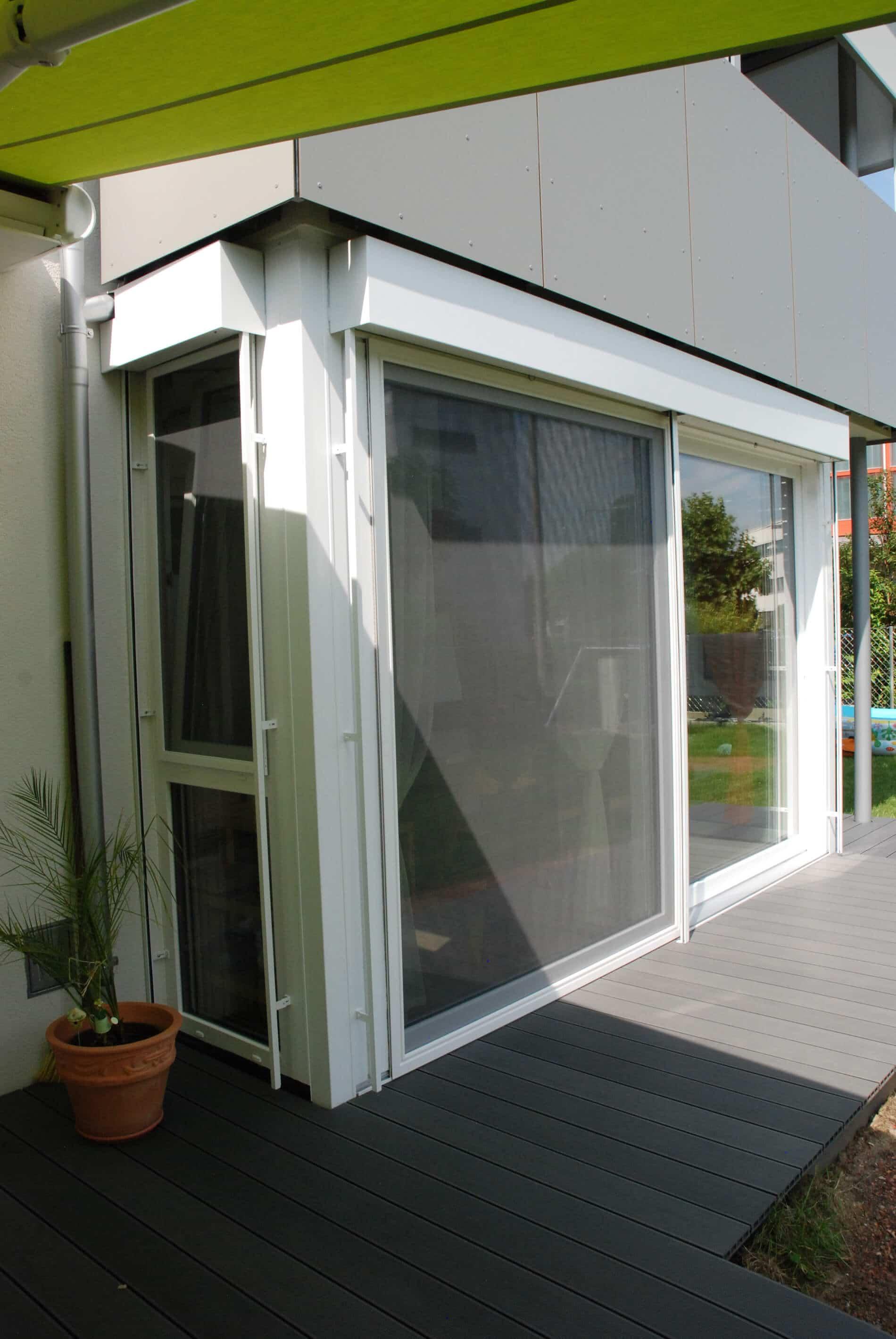 Terrassenverbau Wintergarten Kunststoff