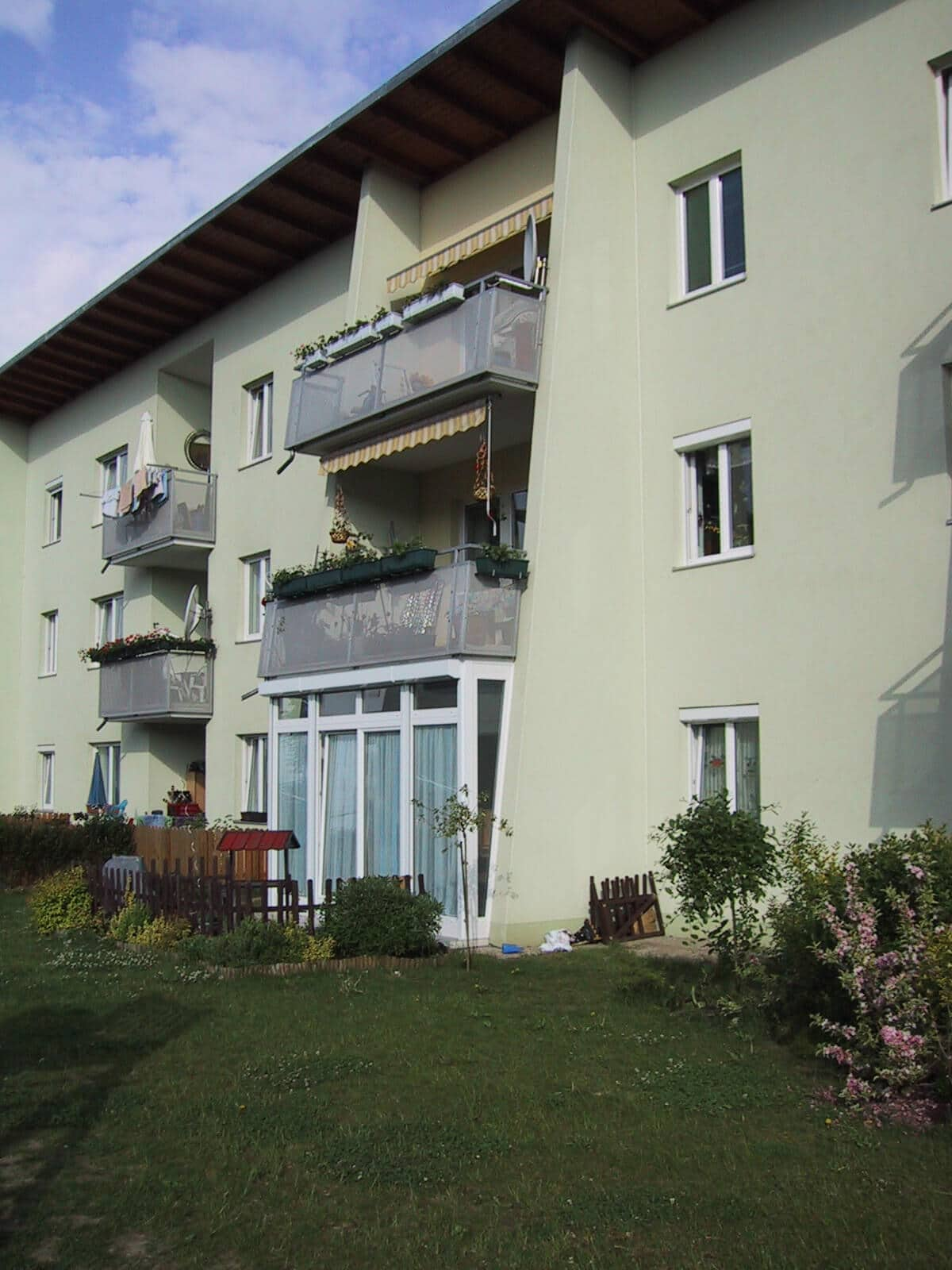 Terrassenverbau