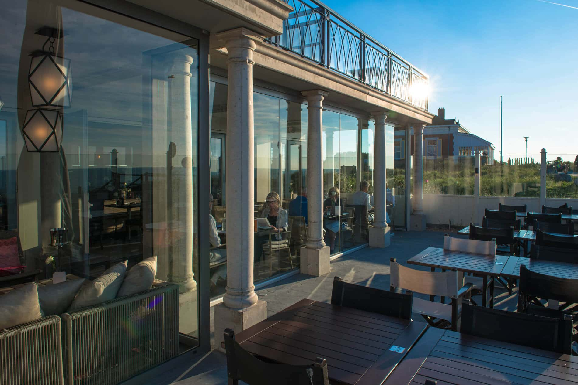 Terrassenverglasung für Hotel und Gastronomie