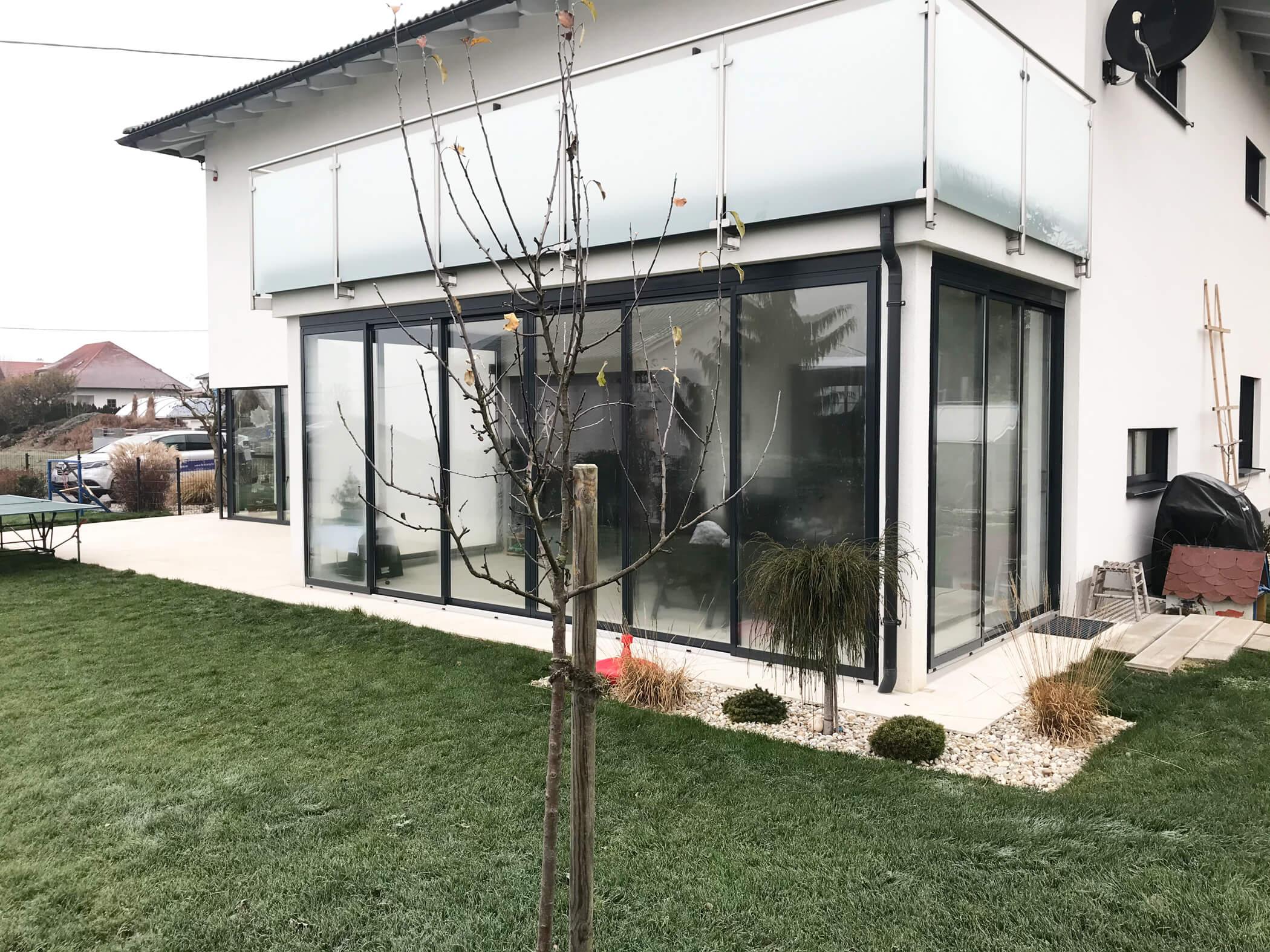 Terrassenverglasung in Wartberg ob der Aist