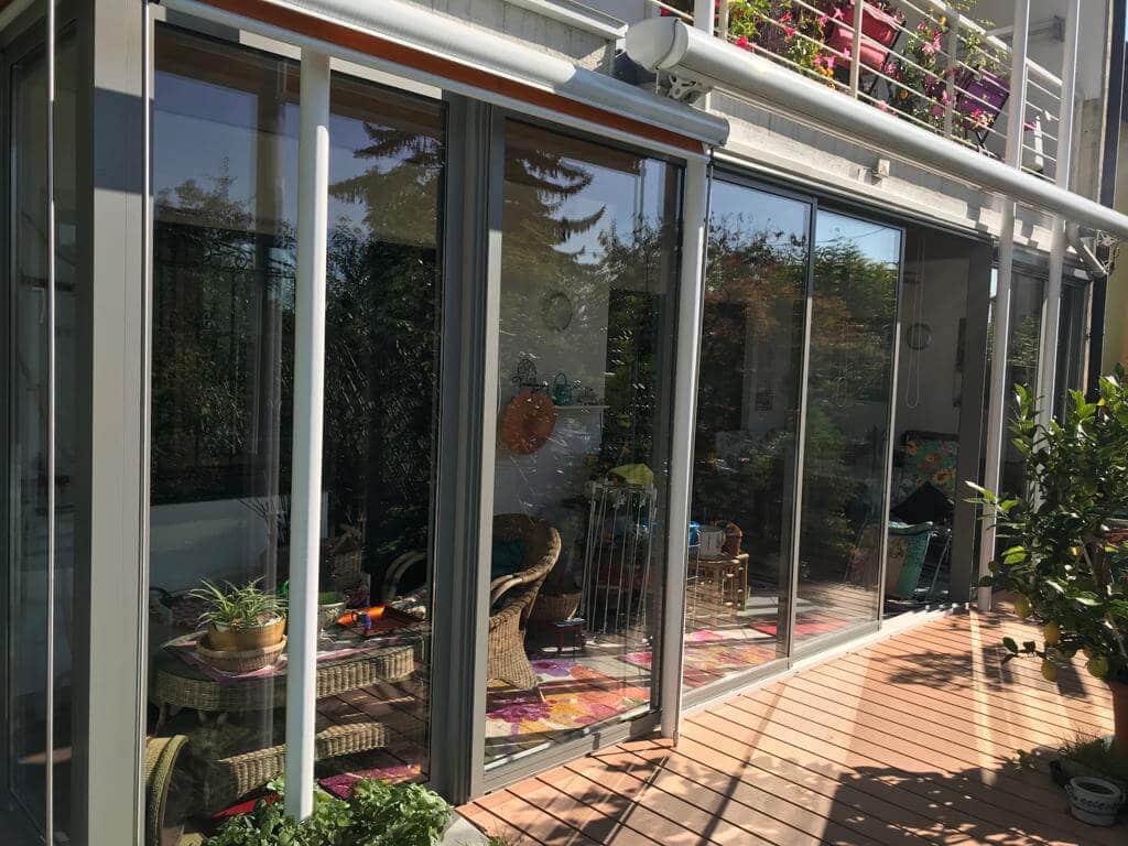 Terrassenverglasung nach Maßanfertigung