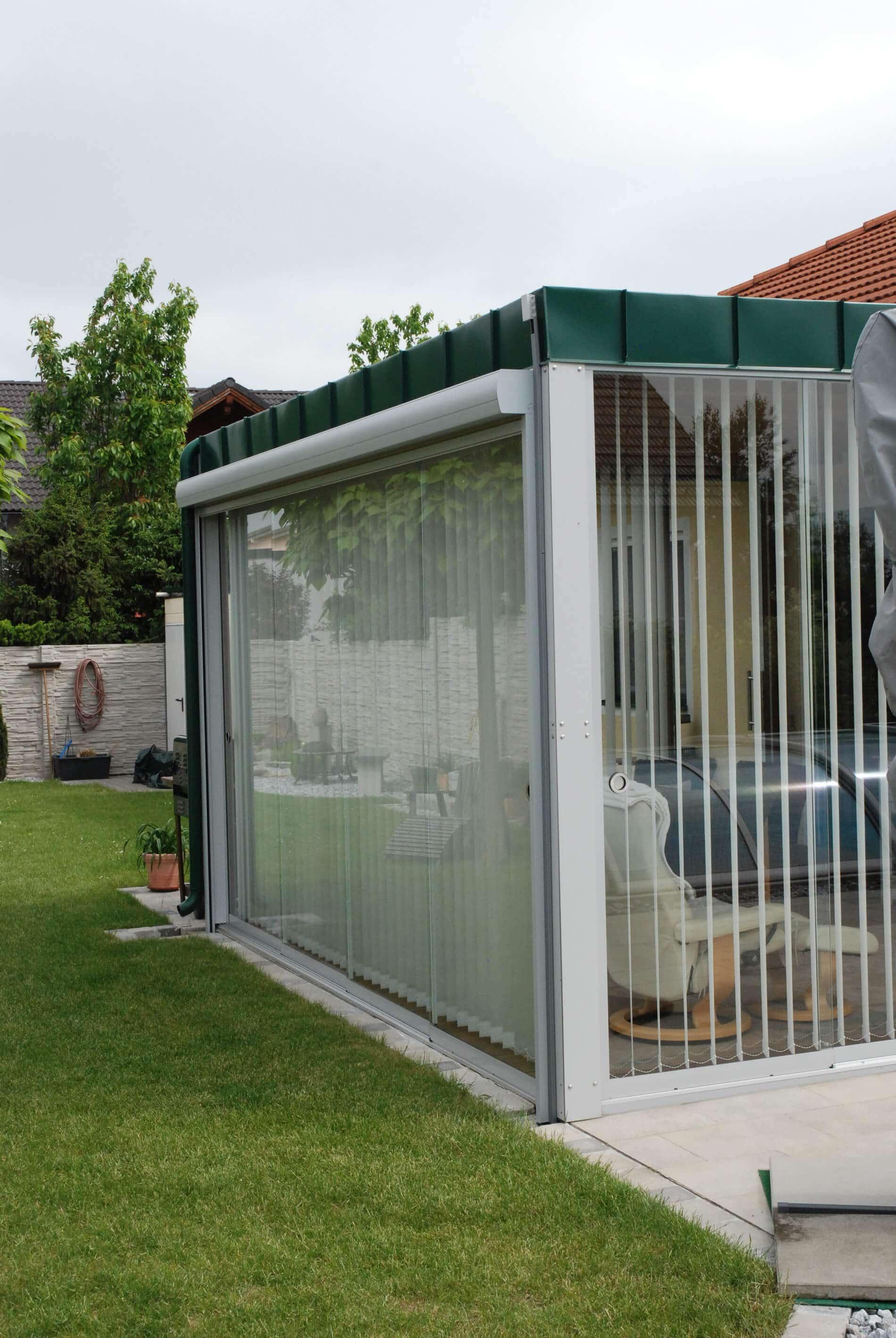 Terrassenverglasung Schiebetüren