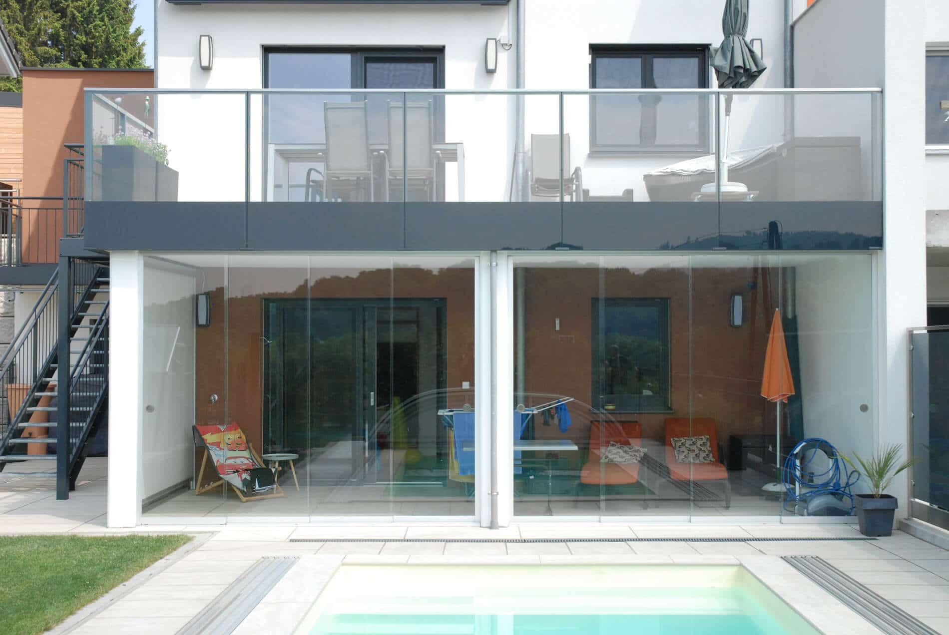 Terrassenverglasung Schiebeverglasungen