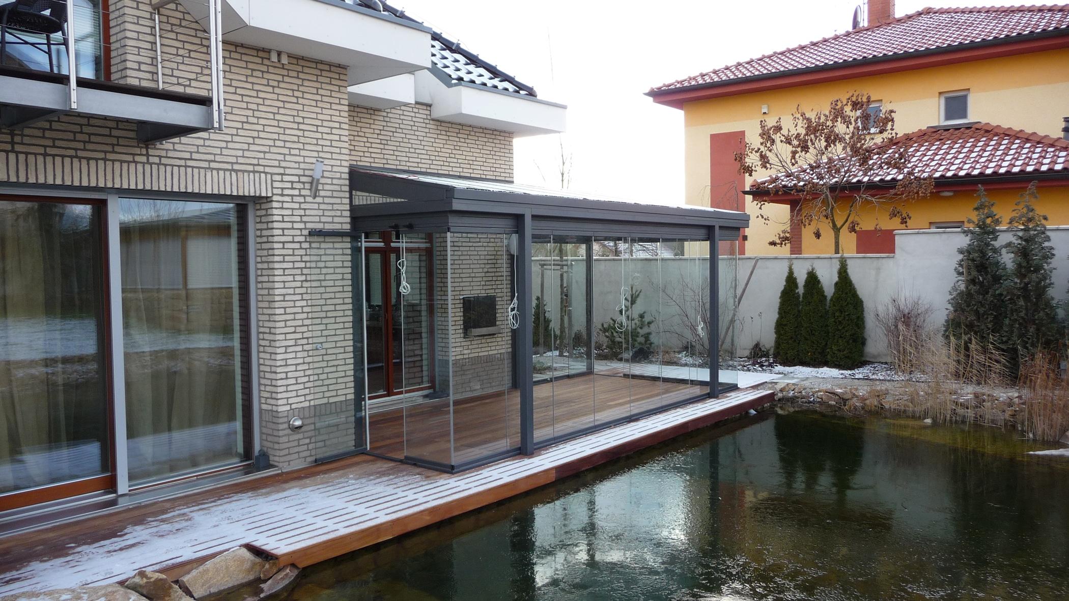 Terrassenverglasung Sommergarten nach Maß
