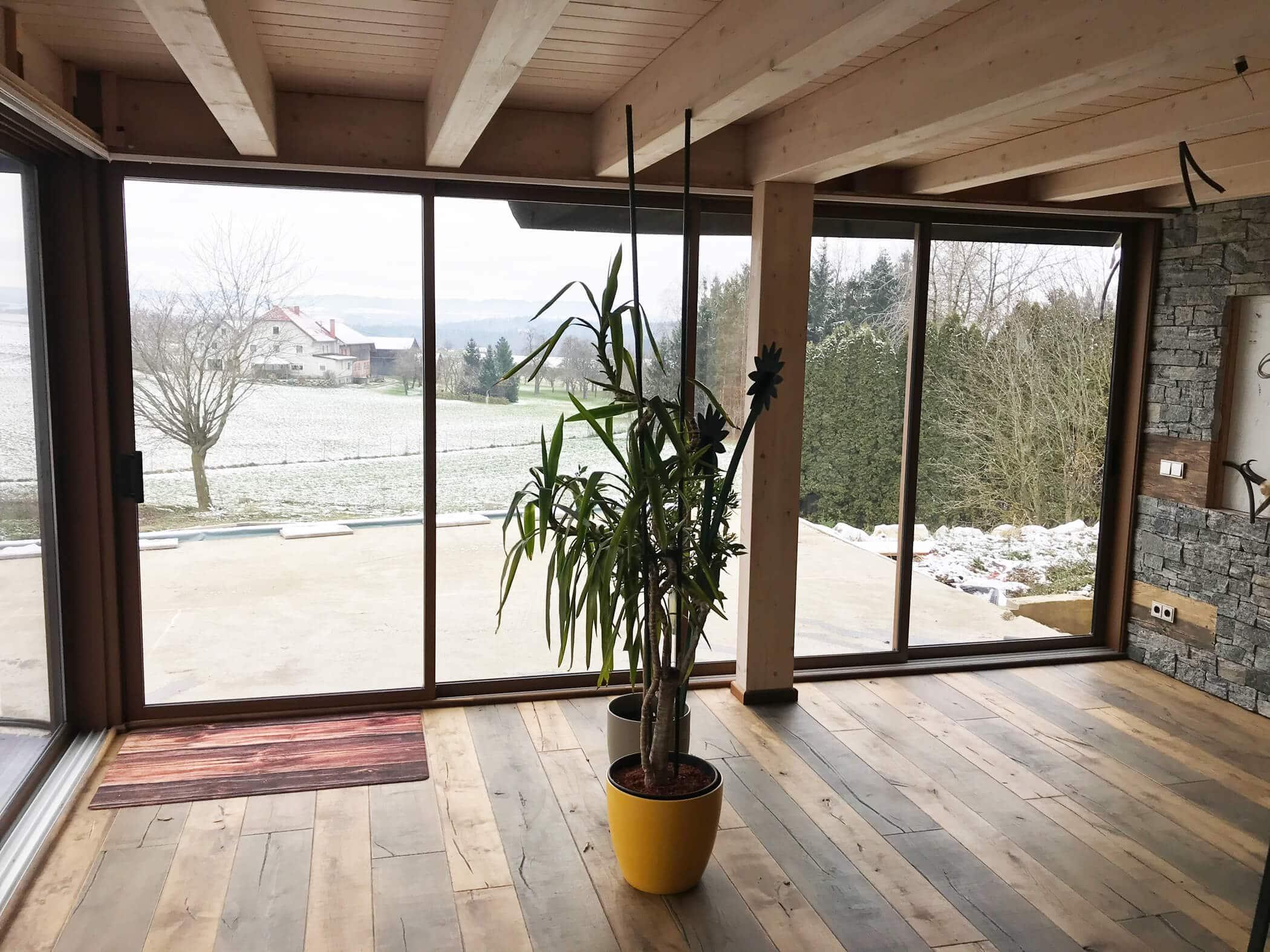 Terrassenverglasung Wohnraum erweitern