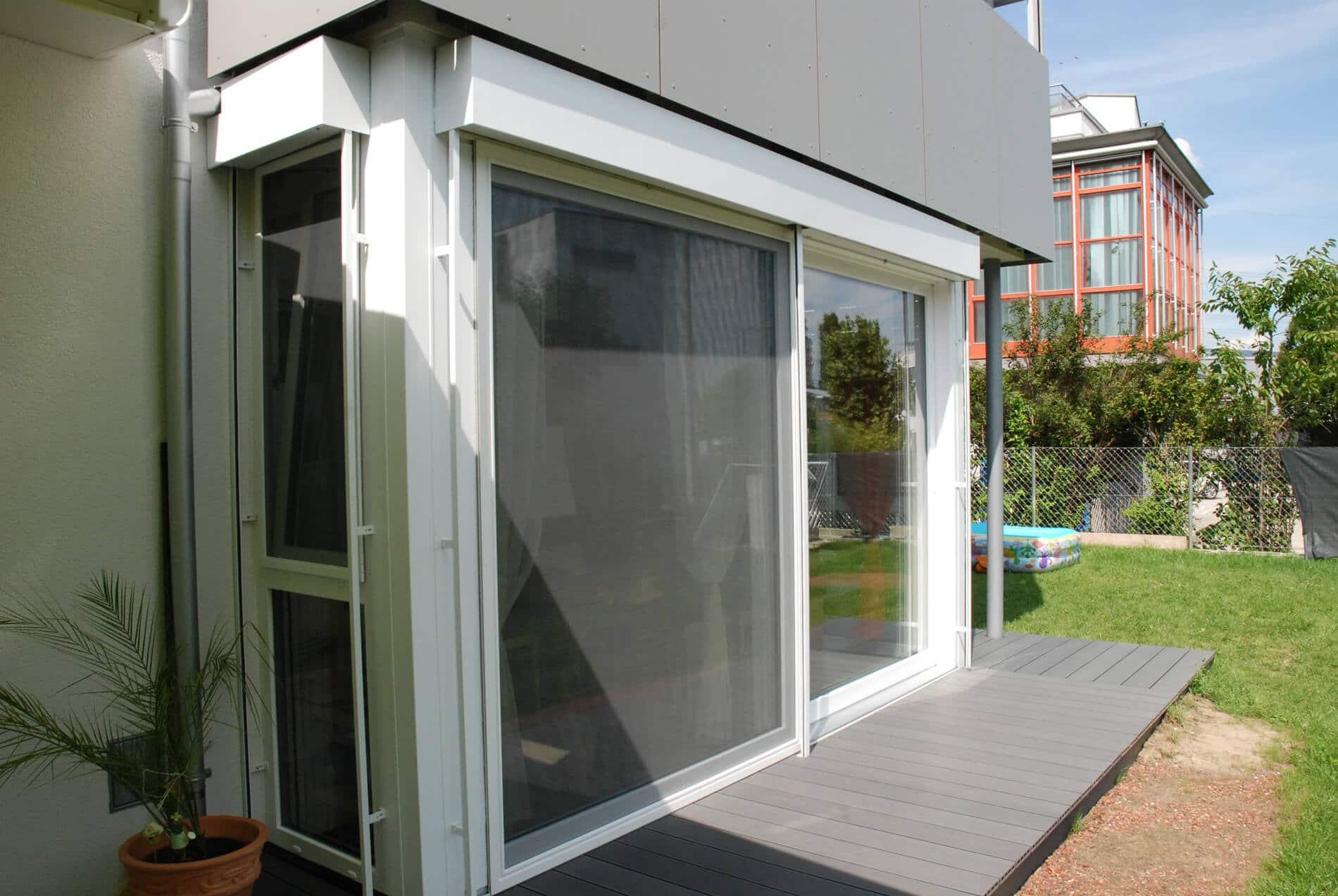 Terrassenverkleidung Kunststofffenster