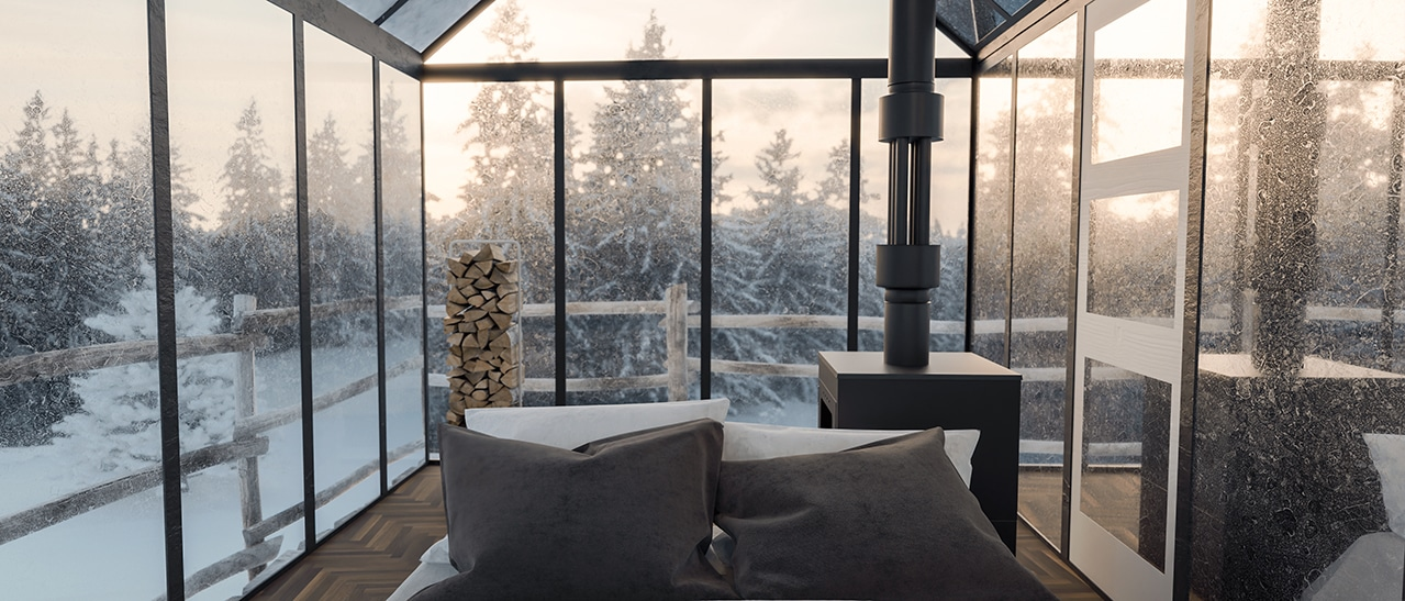 Tipps wie es im Wintergarten warm bleibt