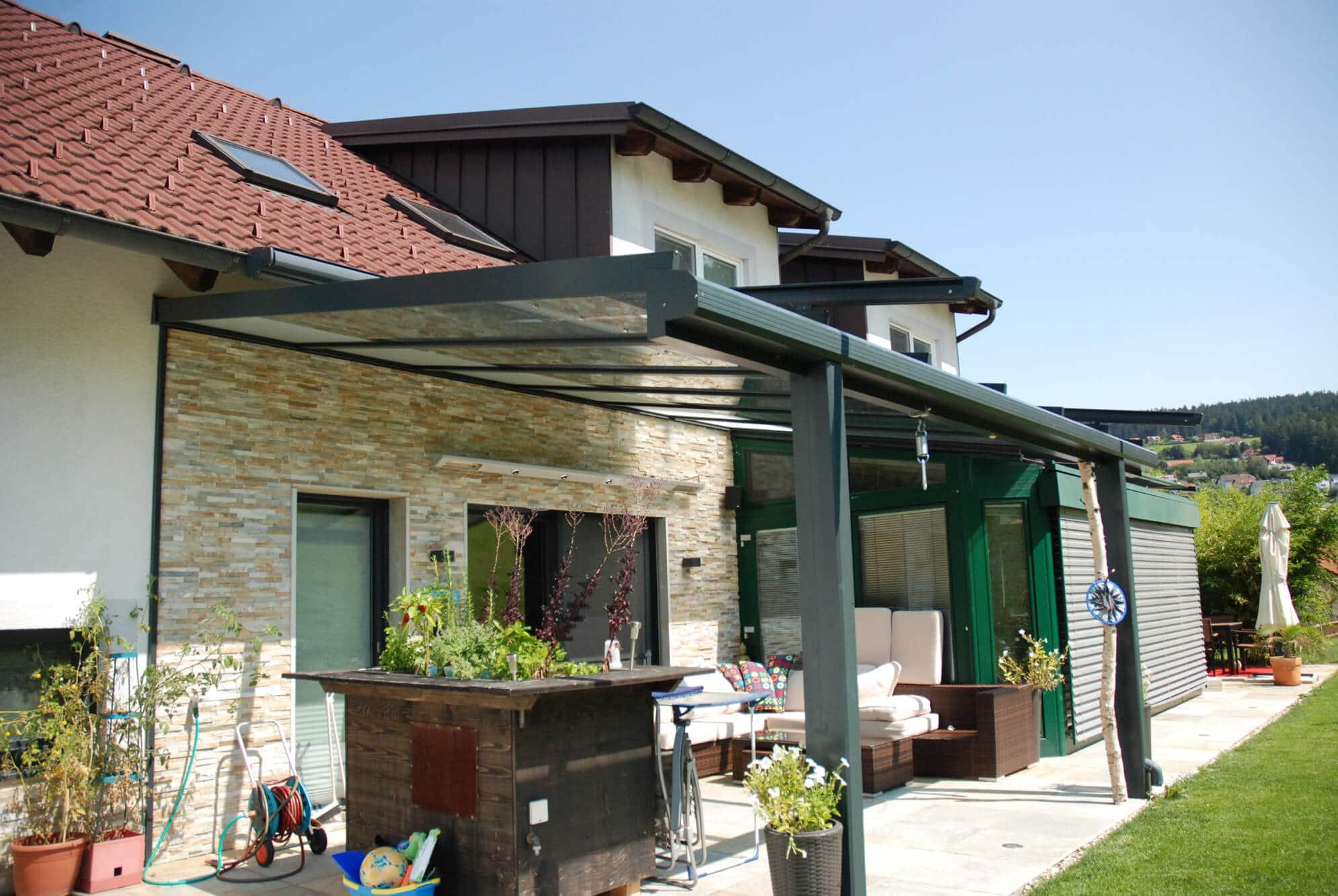 Uberdachte Terrasse Glas Inspiration Und Ideen Fur Terrassendacher