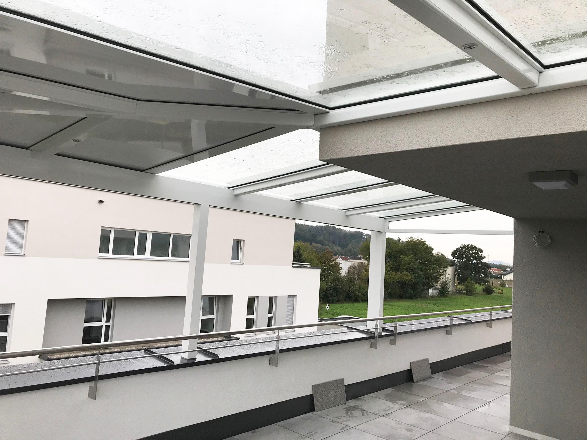 Überdachung Terrasse in Pichling - Oberösterreich