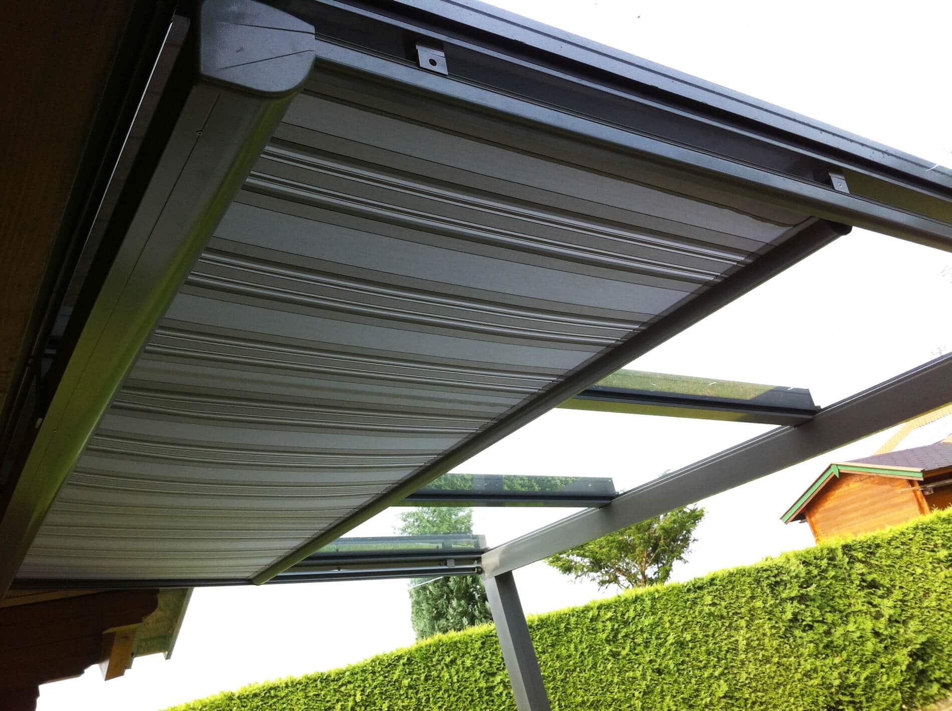 Unterglasmarkise für Terrassenüberdachung