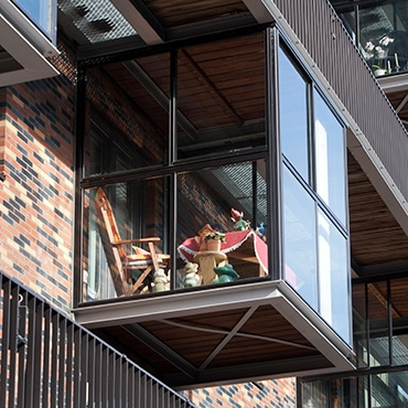 Urlaub auf Balkonien - Balkonverglasung