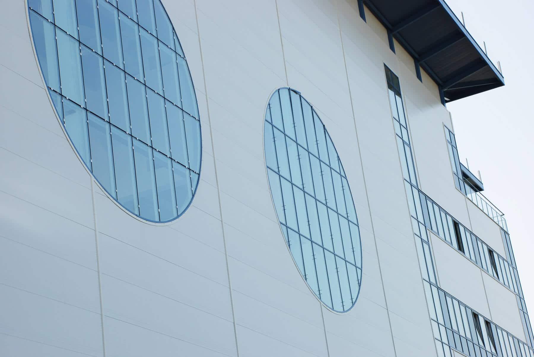 Verglasungen für Industriebau