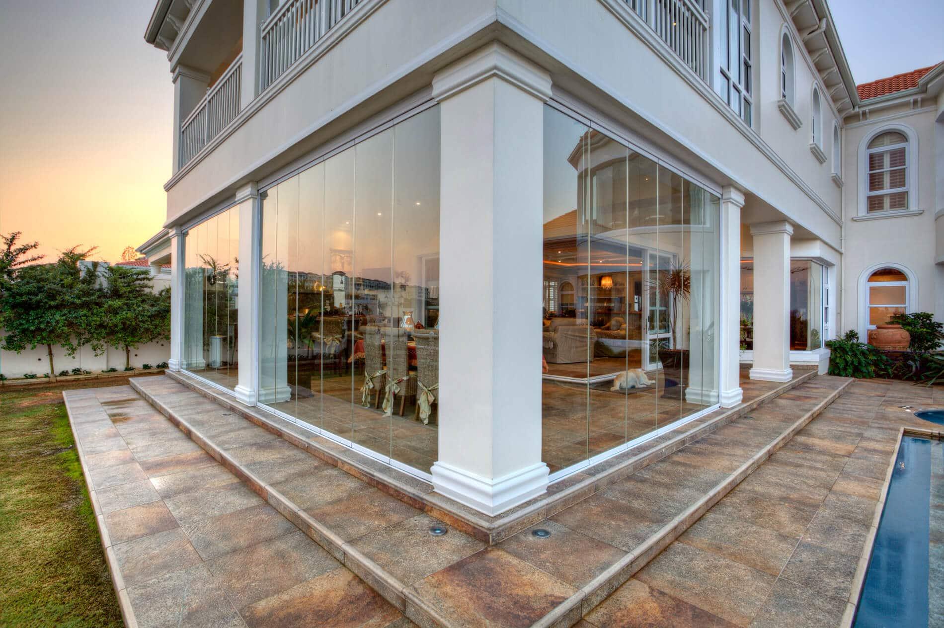 Verglasungen für Terrassen