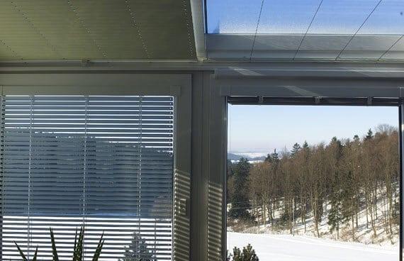 Vergleich Sichtschutz Wintergarten
