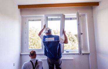 Vorbereitung Fenstermontage