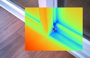 Wärmebildkamera Fenster - U-Wert