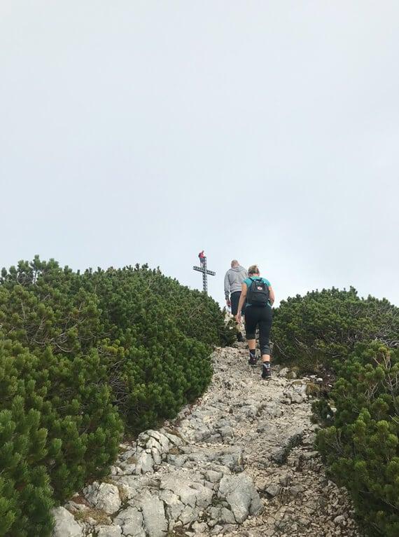 Wanderung Feuerkogel OÖ Fenster-Schmidinger