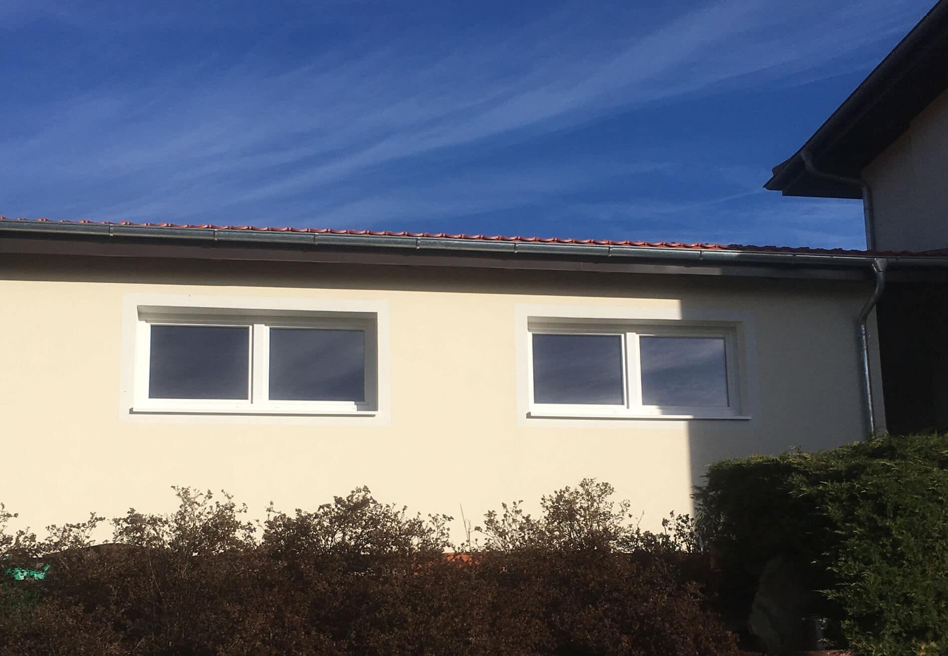 Weiße Fenster Altbau