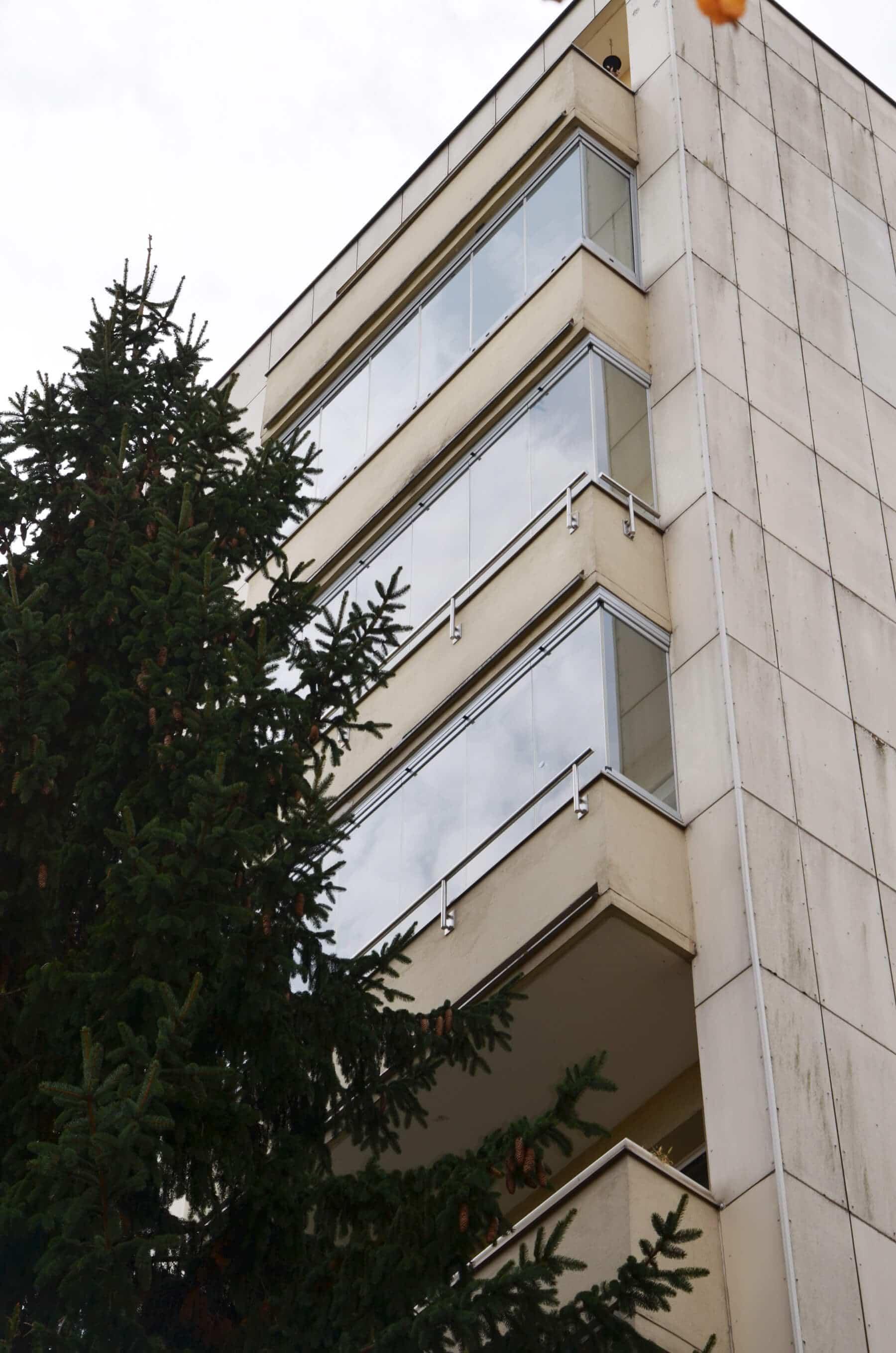 Windschutz Balkon