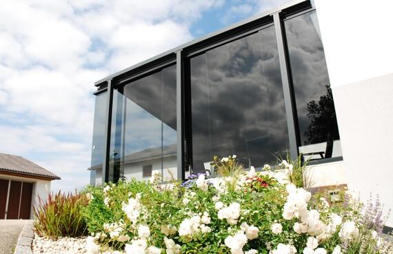 Windschutz Terrasse Ideen