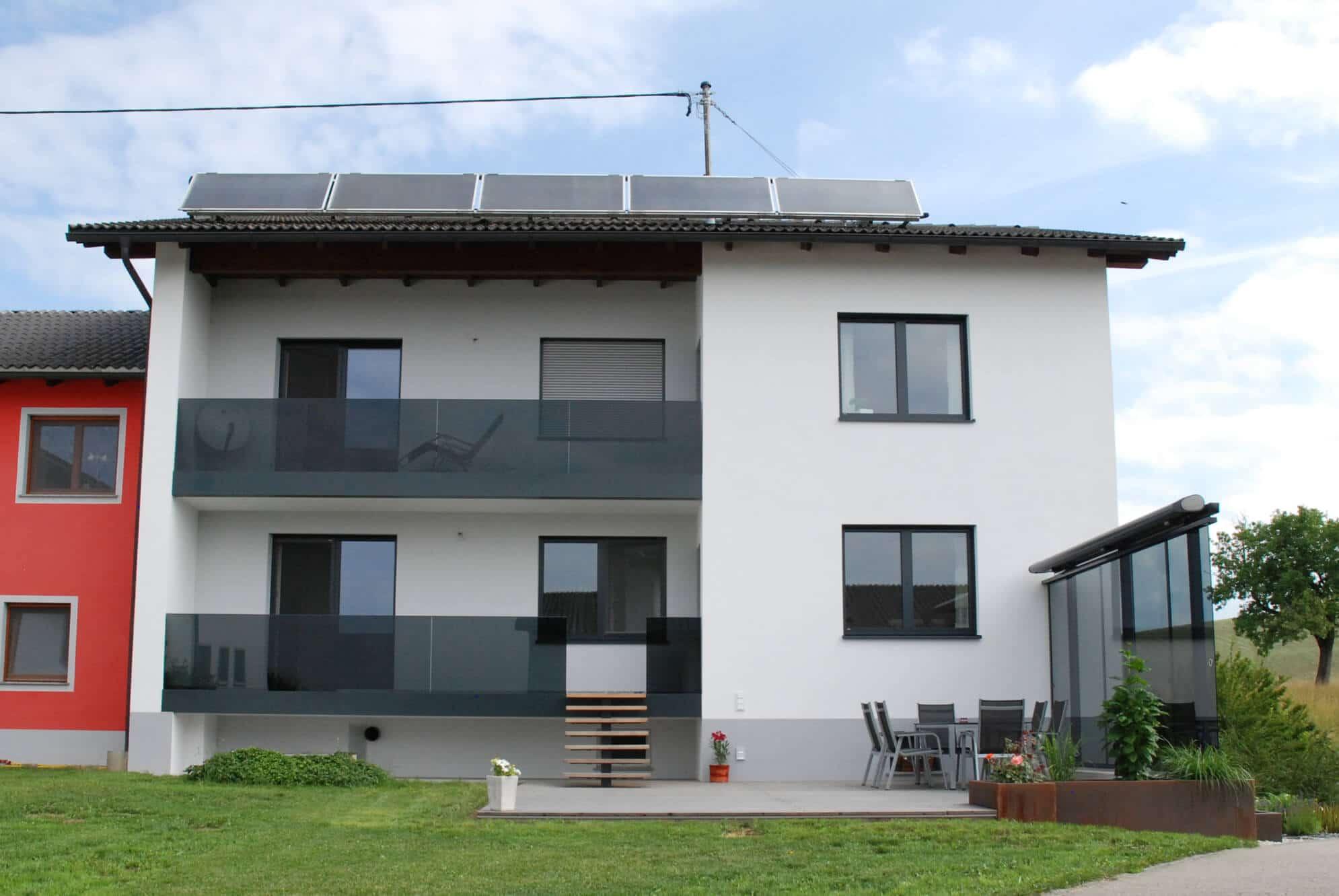 Windschutz Terrasse Sonderanfertigung