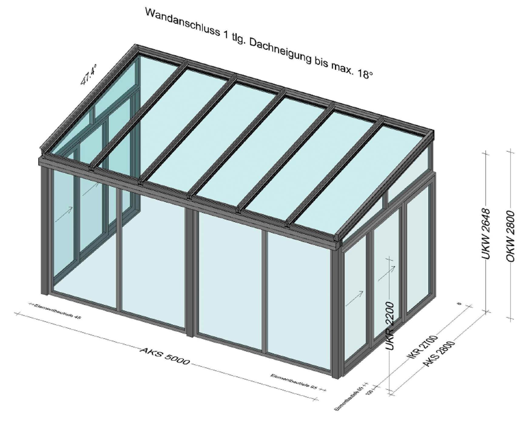 Wintergarten in 4053 Ansfelden