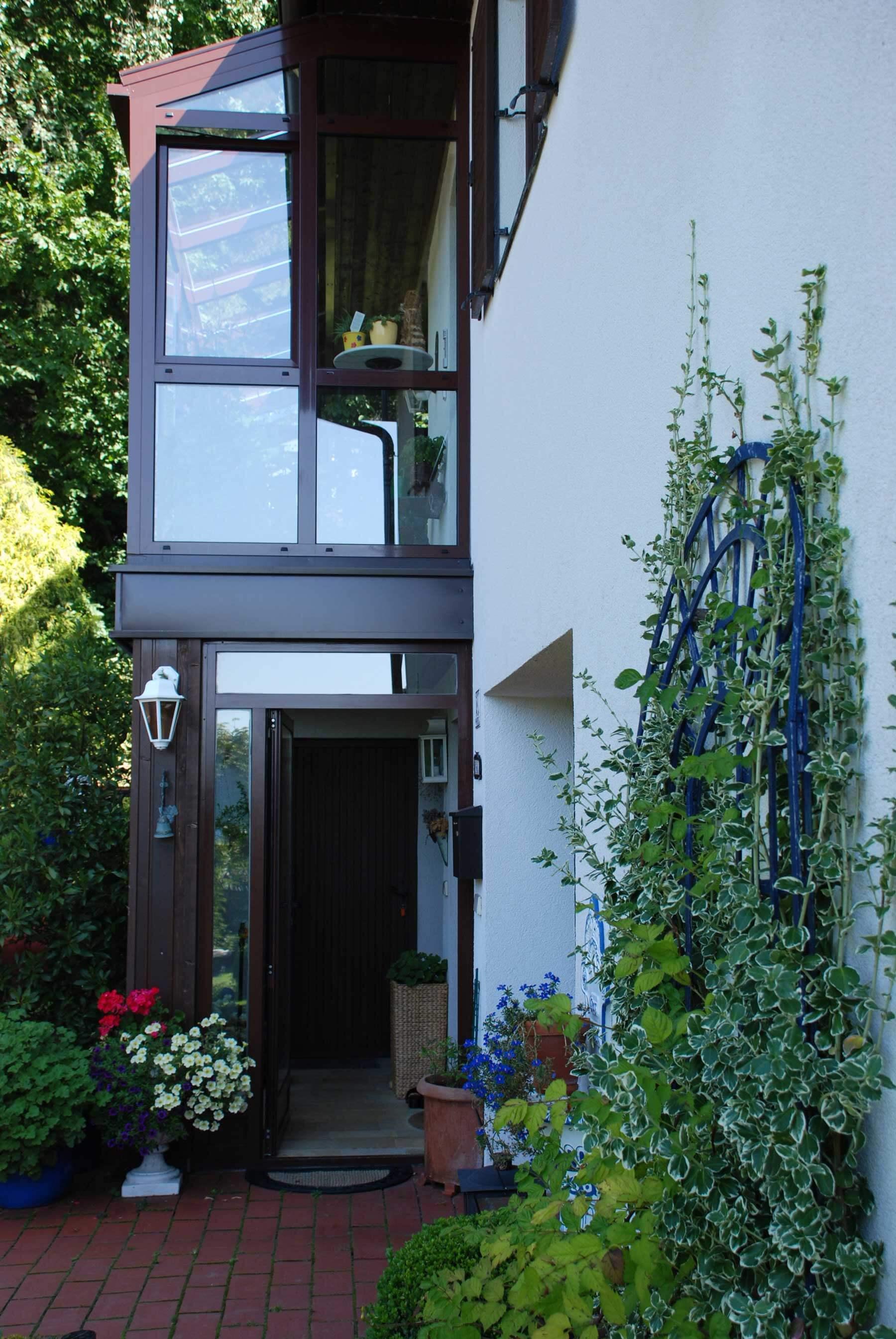 Wintergarten Aluminium-Elemente & Glas