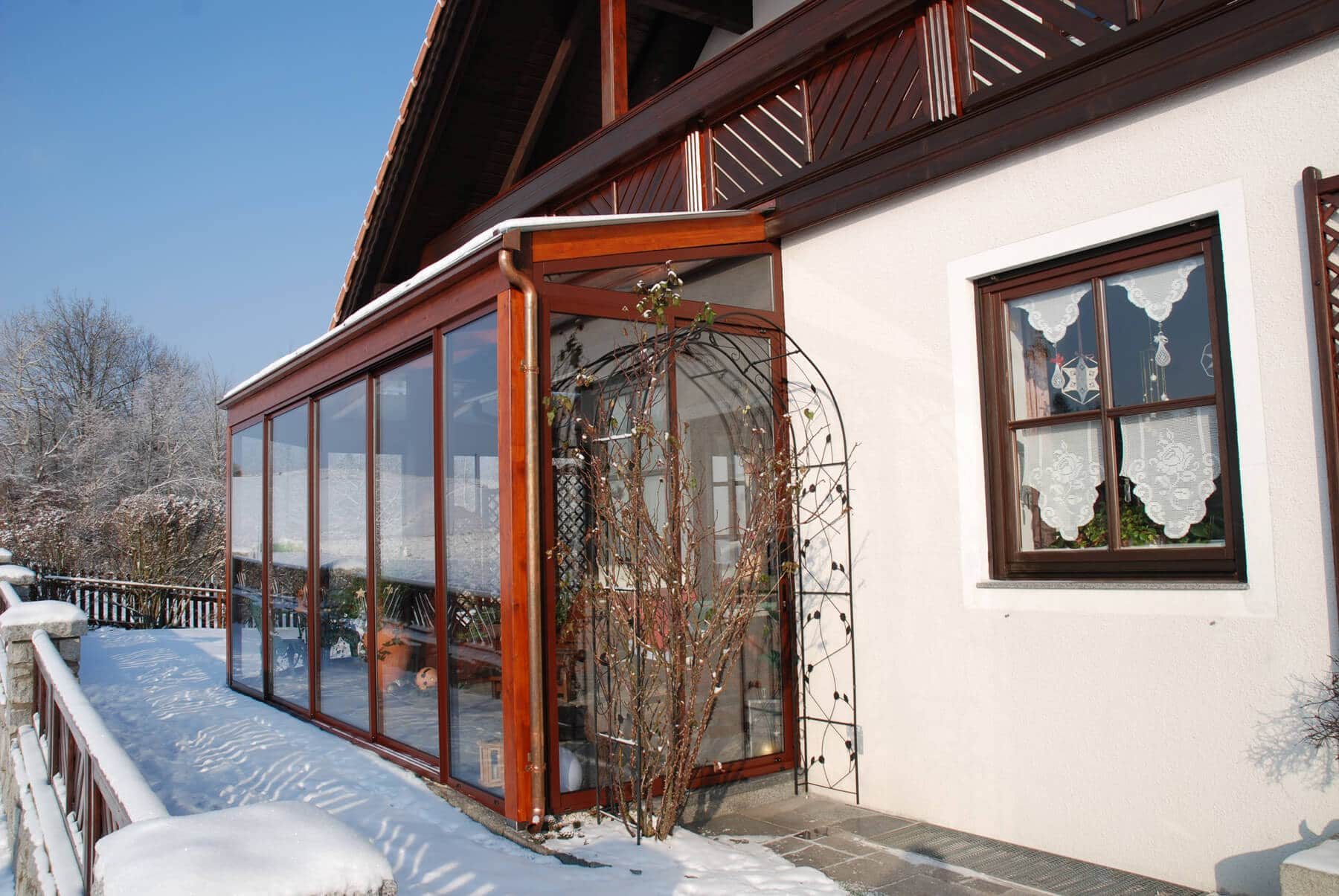 Anbau Haus wintergarten anbau an haus fenster schmidinger