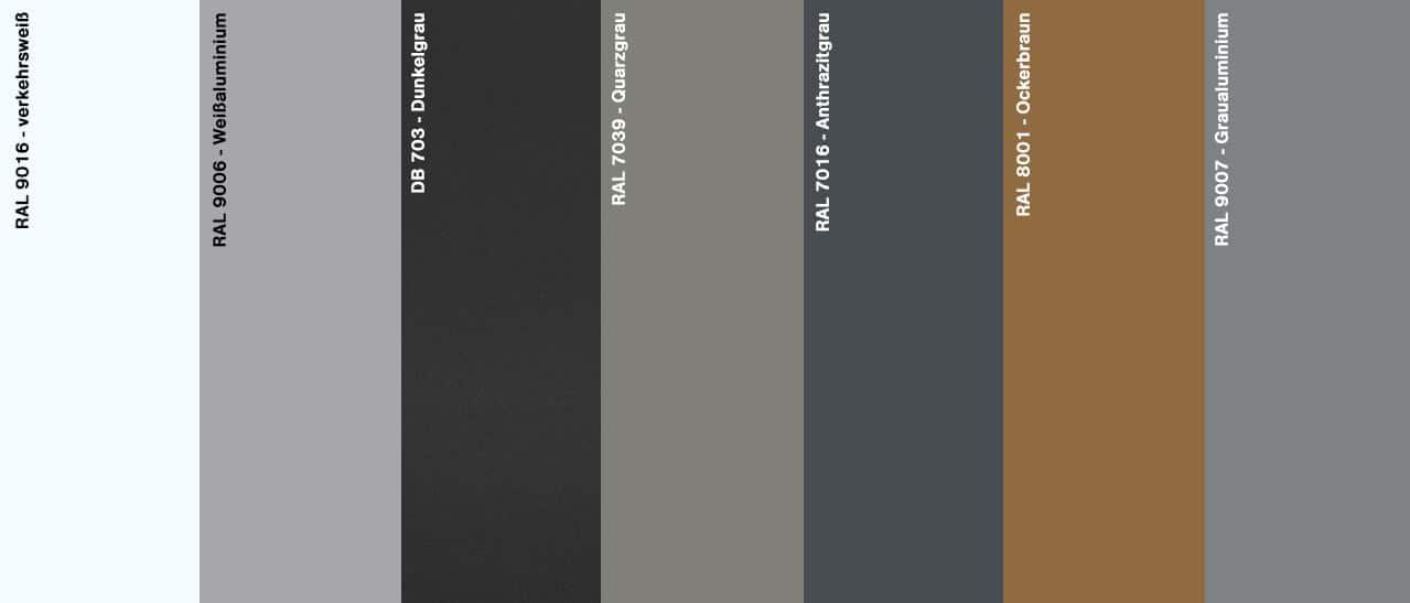 Wintergarten Farben Trend
