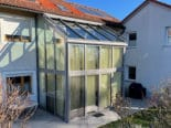 Wintergarten für 2 Stockwerke mit Dachbeschattung
