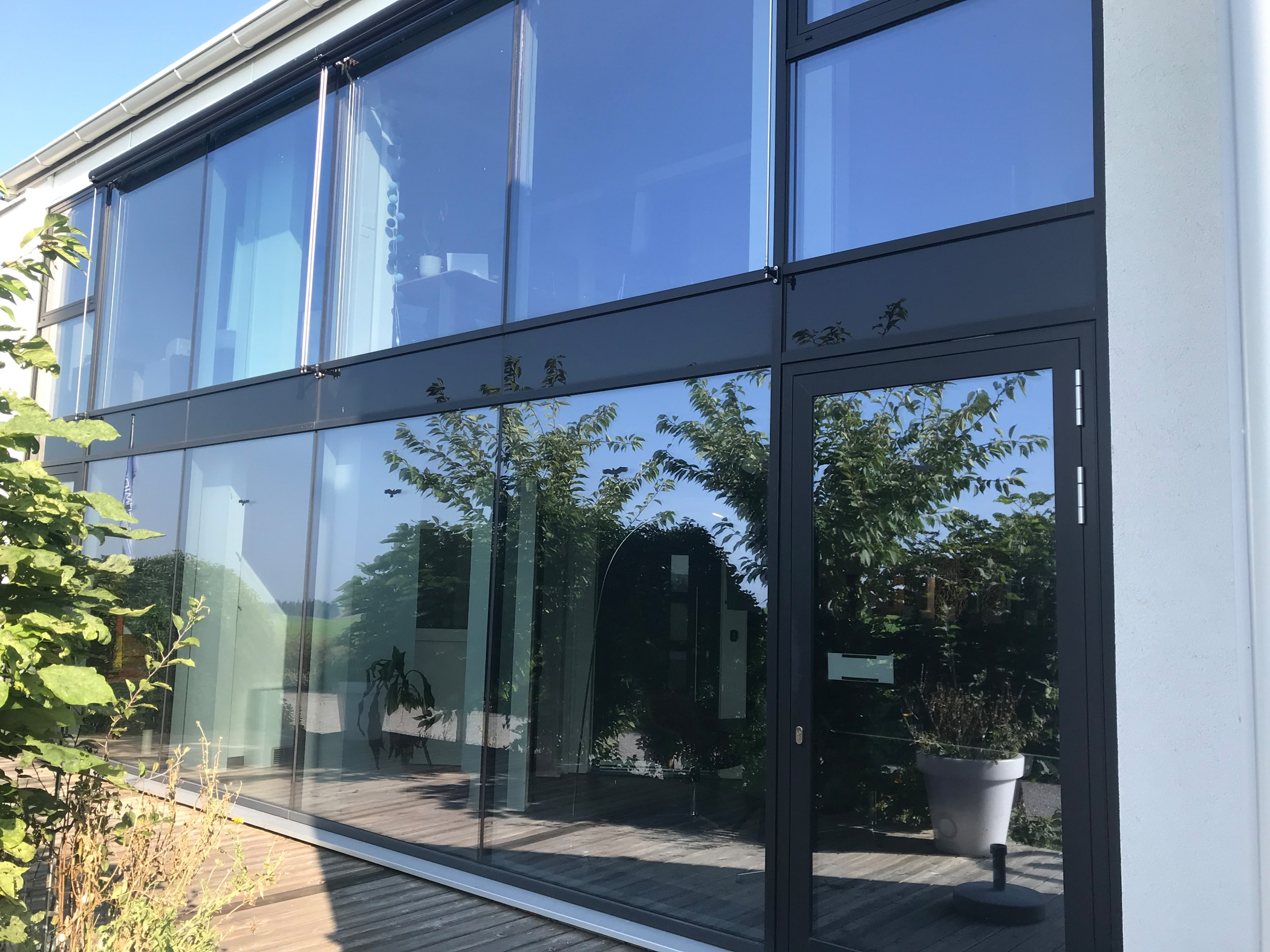 Wintergarten Glasfassadensystem - Schmidinger Gramastetten