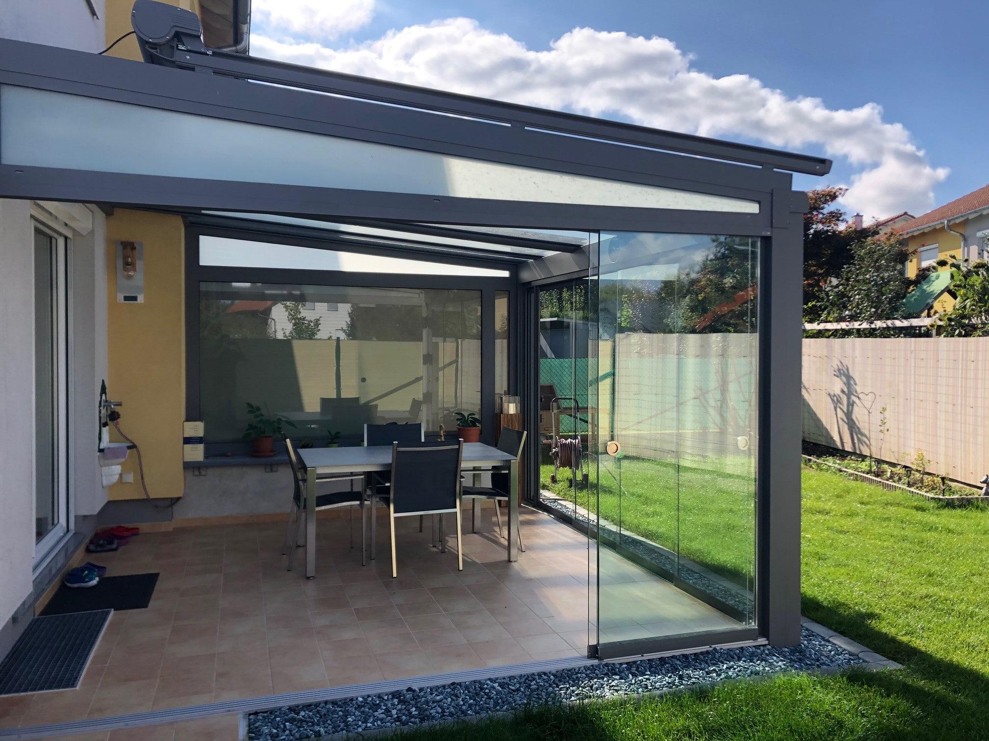 Wintergarten Glastüren - 4600 Wels
