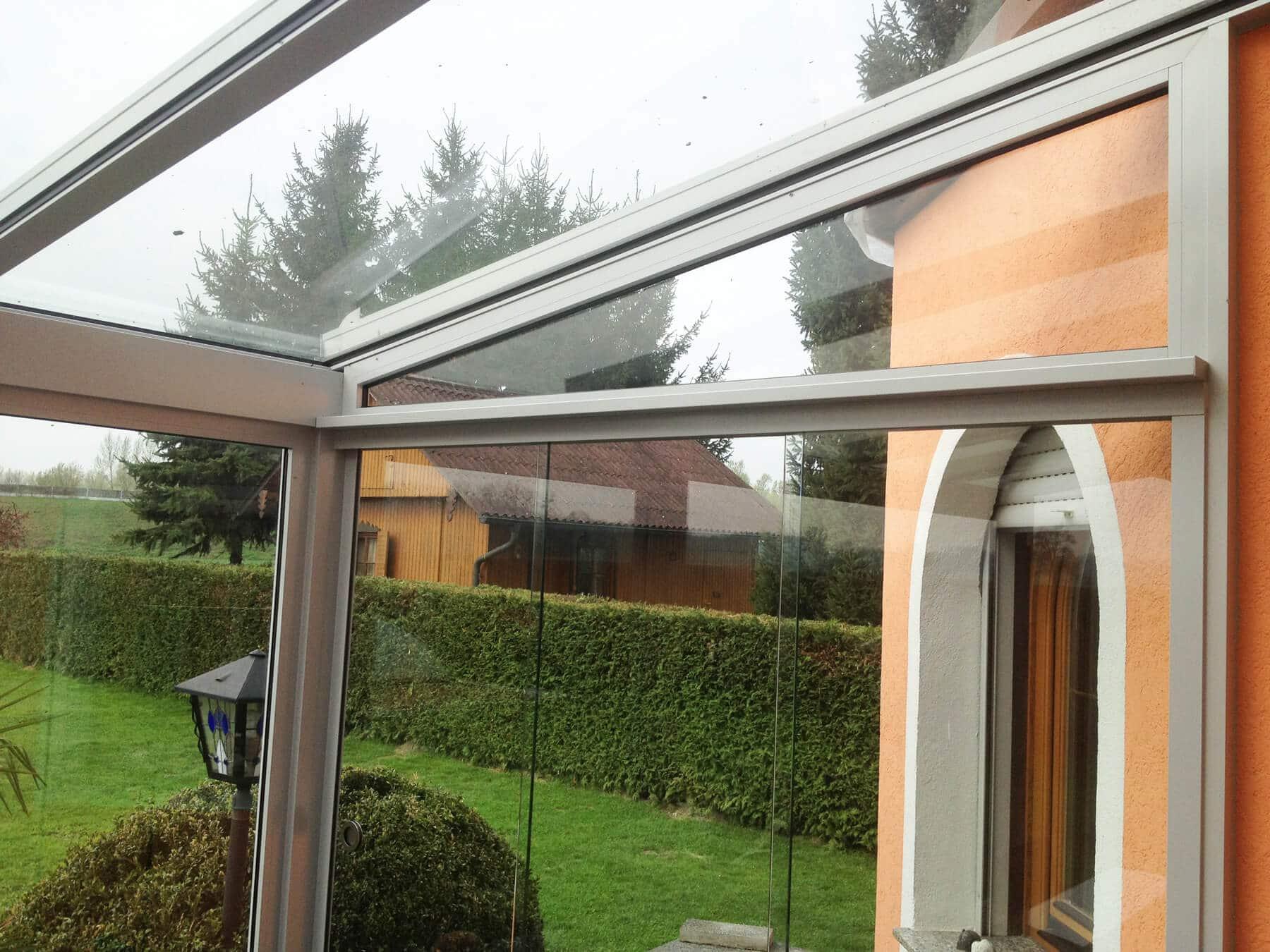 Wintergarten Innenansicht - Anbau Einfamilienhaus