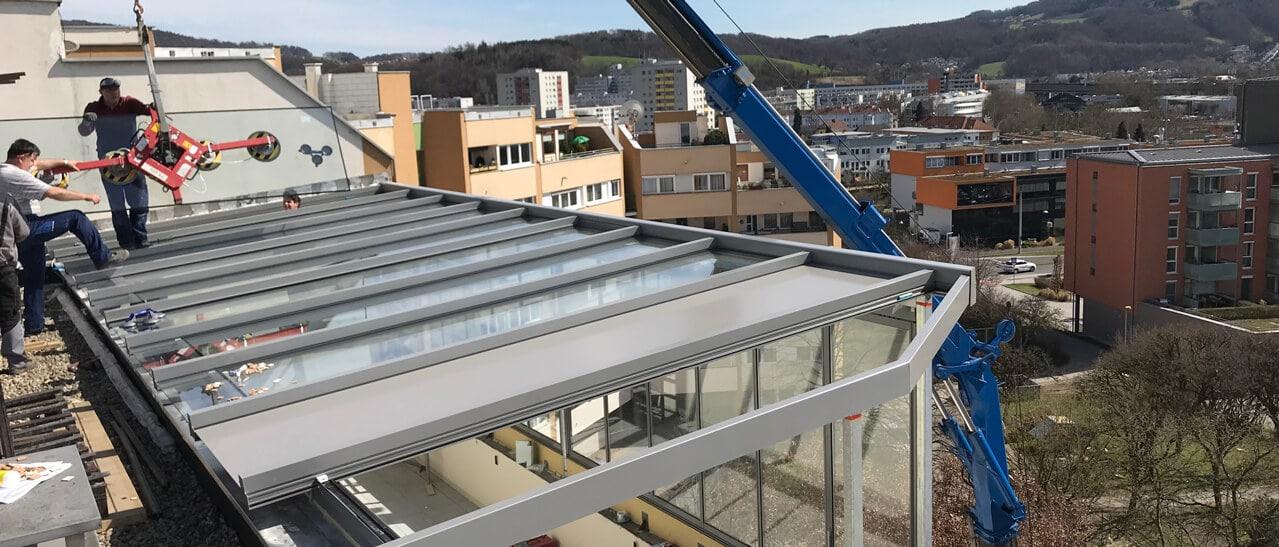 Wintergarten Montage Linz