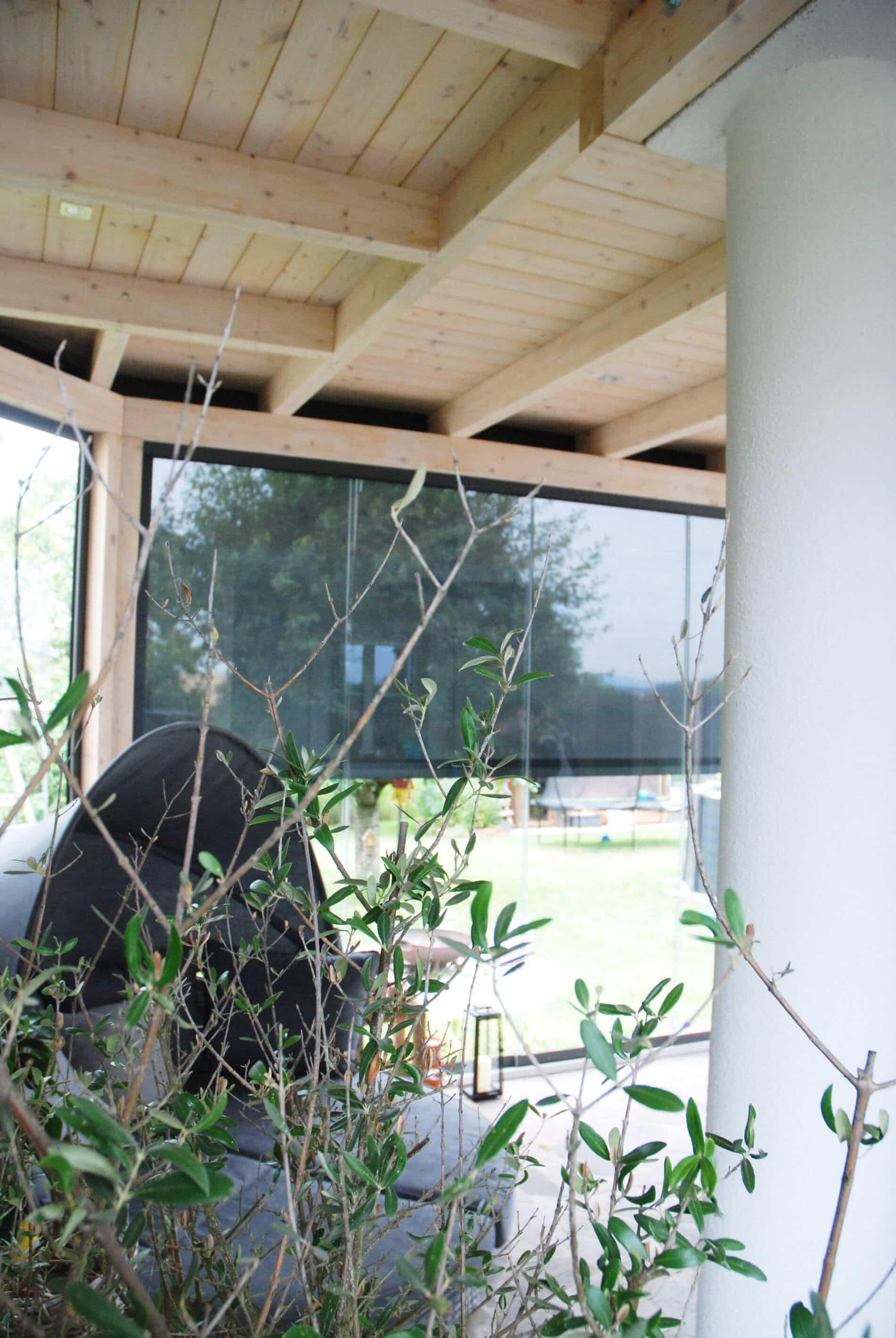 Wintergarten mit Holz-Aluminium