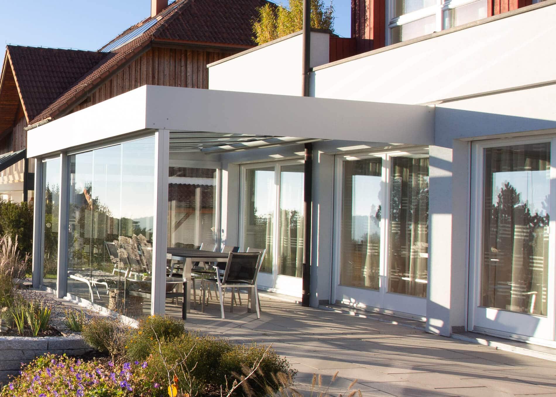 Wintergarten Modern Anbau in Oberösterreich