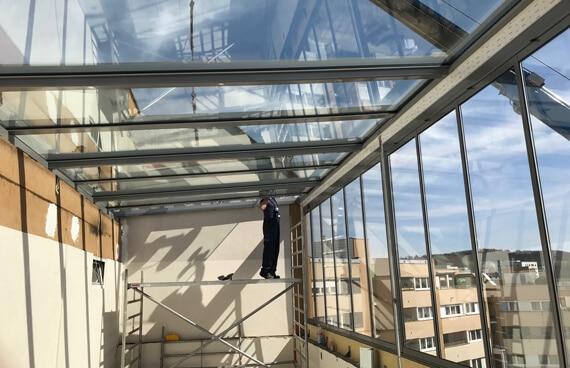 Wintergarten Montage in Linz OÖ