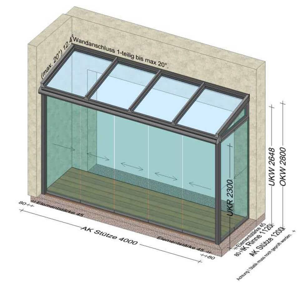 Wintergarten Planung in 4710 Grieskirchen