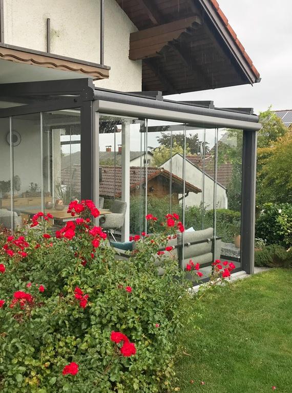 Wintergarten rustikal - Ideen für Möbel