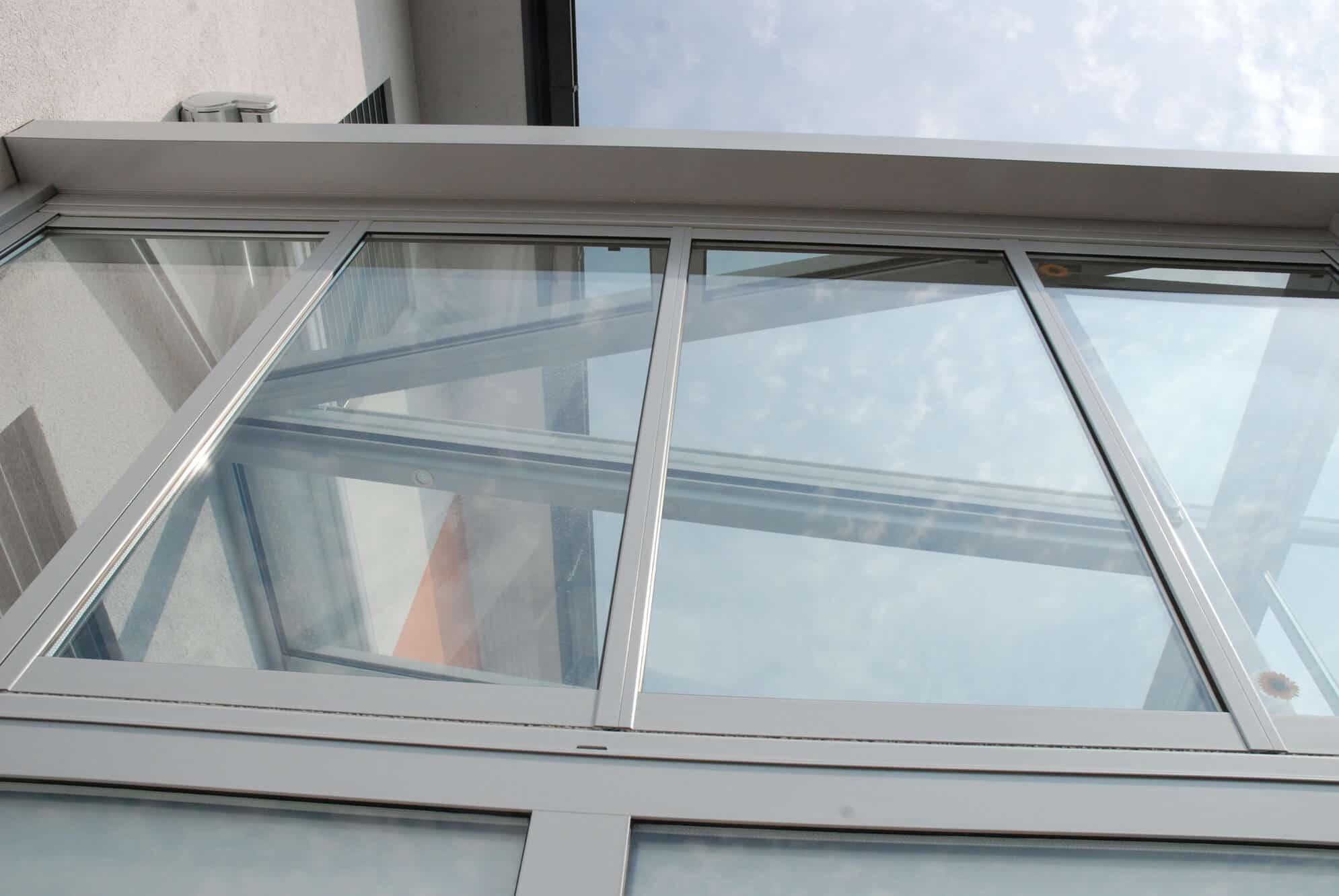 Wintergarten Schiebe-Dreh-Fenster