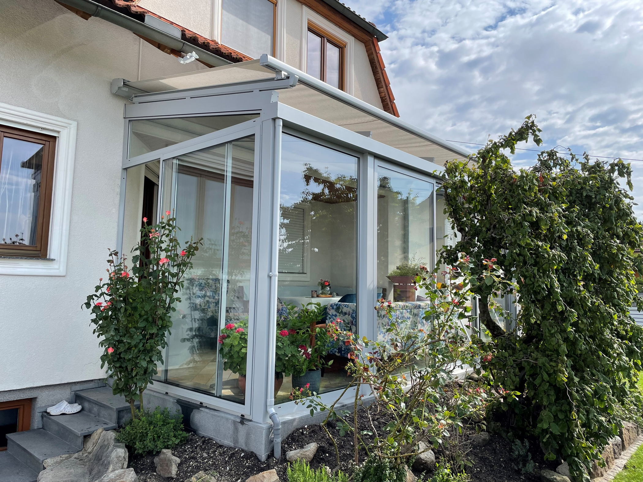Wintergarten System Chill-Lounge in 4320 Perg