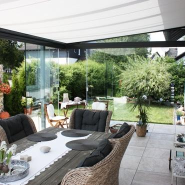 Wintergarten Terrassenüberdachung - was nehmen?