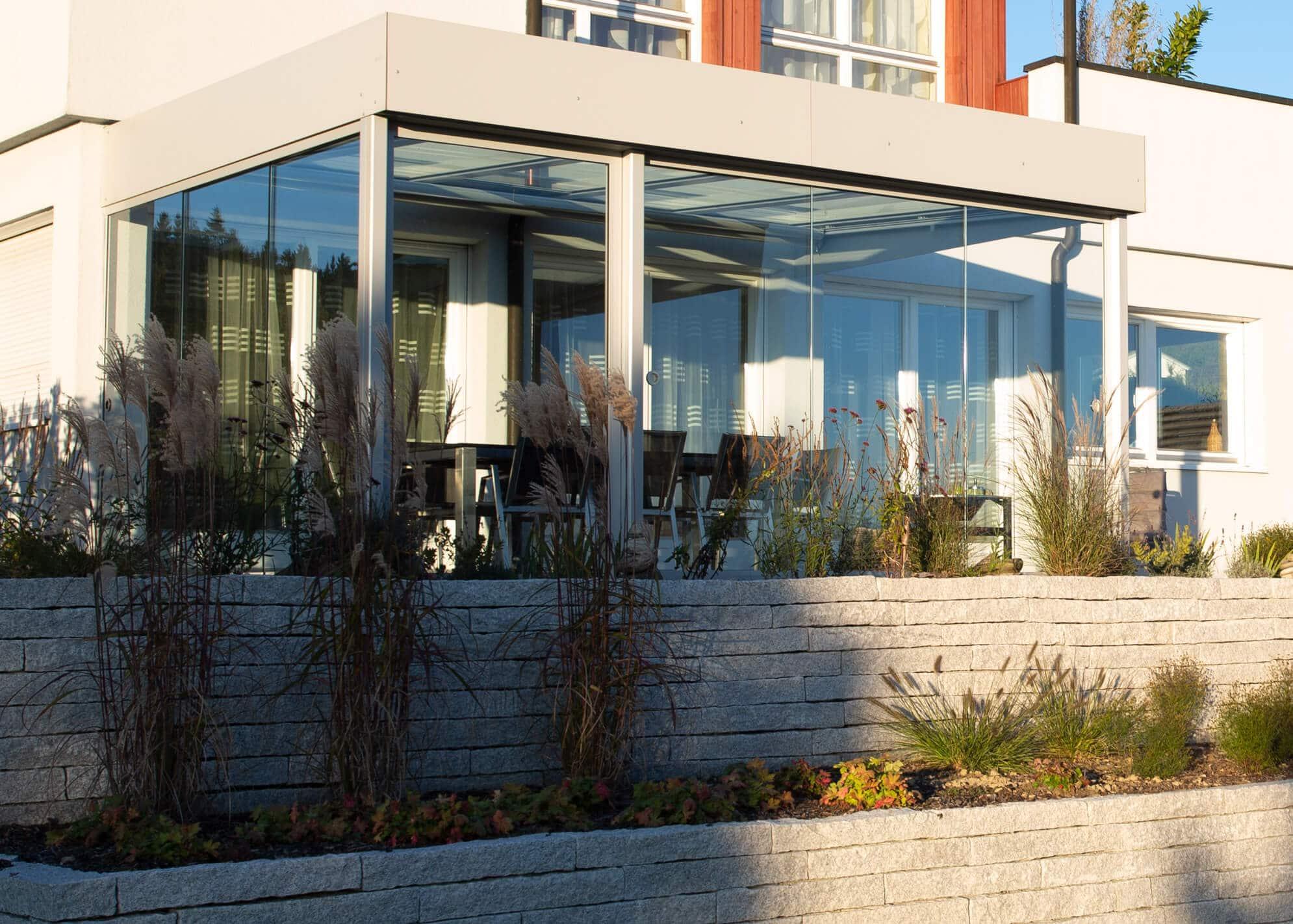Wintergarten Terrassenüberdachung