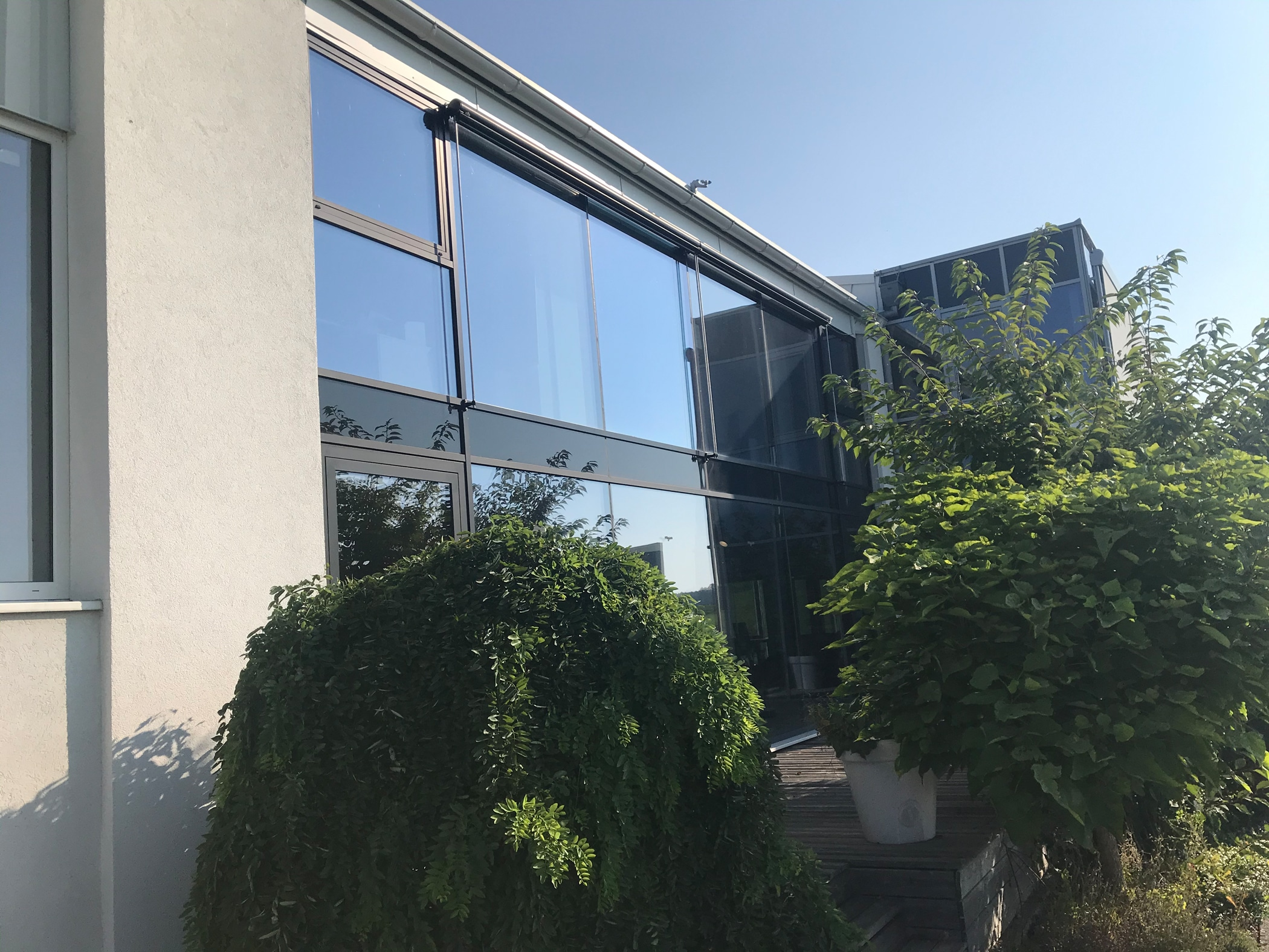 Wintergarten Verglasungssysteme Fenster Schmidinger